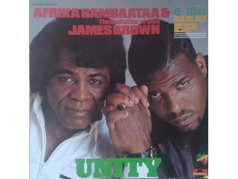 "Afrika Bambaataa & James Brown title* Unity* Hip Hop, Funk / Soul 12""-Maxi Germa"