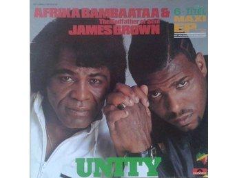 "Afrika Bambaataa & James Brown title* Unity* Hip Hop, Funk / Soul 12""-Maxi Germa - Hägersten - Afrika Bambaataa & James Brown title* Unity* Hip Hop, Funk / Soul 12""-Maxi Germa - Hägersten"