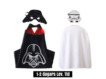 2-PACK Star wars, Darth Vader & Storm Trooper, pj, maskerad