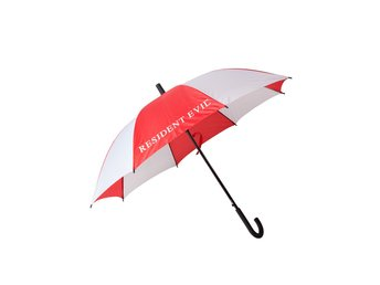 Paraply - Spel - Resident Evil - Red White Umbrella With Logo