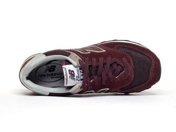 New Balance 574 strl 42 - Wine Red nya
