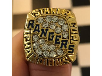 New York NY Rangers Stanley Cup ring Messier Leetch Lundqvist hockey NHL