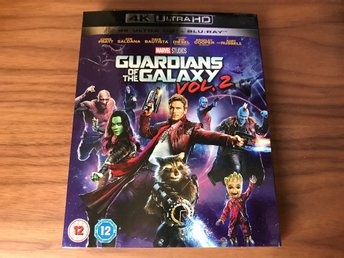 Guardians Of The Galaxy Vol 2 4K Ultra HD Slipcover (BARA SLIPCOVER)