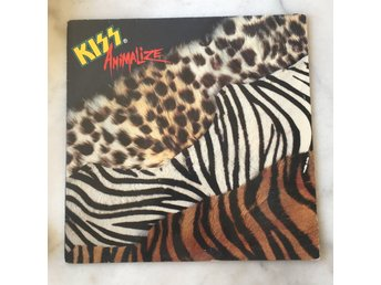 Kiss - Animalize vinyl