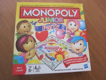 Monopoly Junior - Party i fint skick