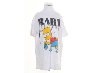 The Simpsons, T-shirt, Strl: 146/152, Vit/Svart/Gul