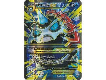 Mega Glalie EX - 156/162 - Full Art Ultra Rare XY: Breakthrough