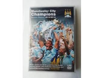 Manchester City Champions Season Review 2013/2014 DVD 3-DISC