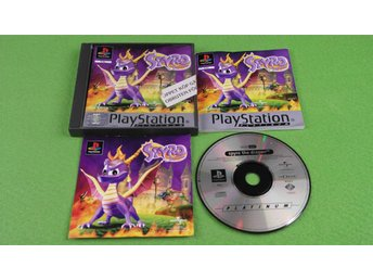 Spyro The Dragon KOMPLETT Playstation PSone