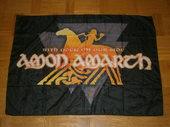 AMON AMARCH (Flagga) 106X78