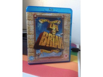 Monty Pythons Life Of Brian: Immaculate Edition (BLURAY, knappt använd!)