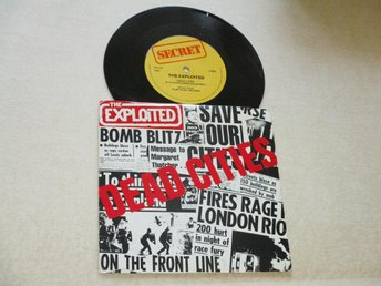 "The Exploited (7"") - Dead Cities SWE-81"