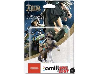 Nintendo amiibo The Legend of Zelda Breath of the Wild Collection (Link Rider)