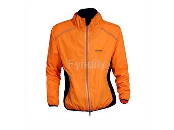 Cykeljacka Outdoor Cycling Jersey Orange L Breathable