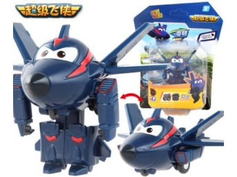 Super Wings Mini Transformer Ace - Mästerflygarna ! Express leverans !