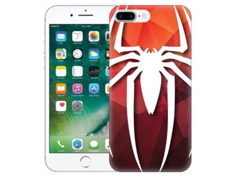 iPhone 7 Plus Skal Spider-Man Symbol