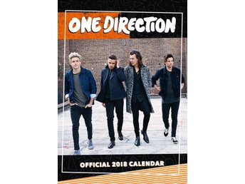 ONE DIRECTION -1D- Officiell 2018 42cm x 30cm Kalender - Ny