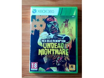Red Dead Redemtion Undead Nightmare xbox 360