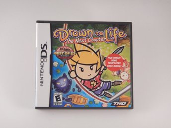 Nintendo DS  --  Draw to Life The Next Chapter  --  U.S