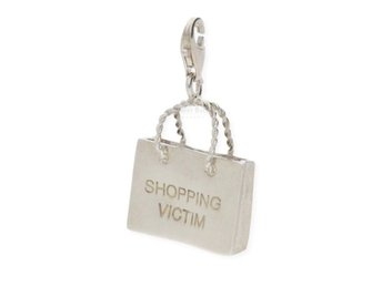 Thomas Sabo charm, Shopping Victim i silver