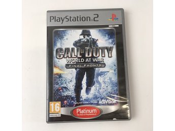 Activision, TV-Spel, Call of Duty Warld At War Playstation 2
