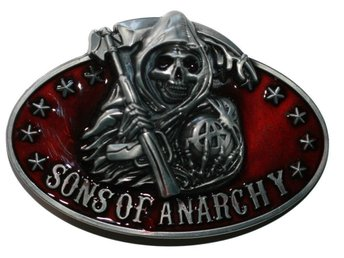 Bältesspänne - SONS OF ANARCHY - SOA - Belt Buckle/Bälte/Spänne - NY