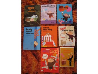ALFONS ÅBERG. Sju böcker en med korsord. G.Bergström - Järfälla - ALFONS ÅBERG. Sju böcker en med korsord. G.Bergström - Järfälla