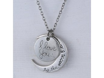 I love You to the Moon & Back- Halsband