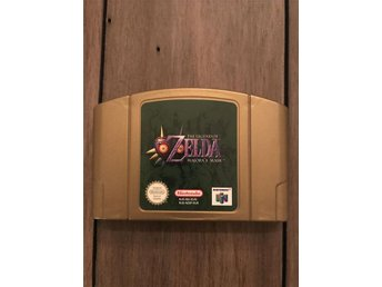 The Legend Of Zelda Majoras Mask N64 Gold edition