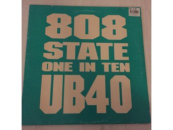 "808 STATE, UB40 - ONE IN TEN. (12"")"
