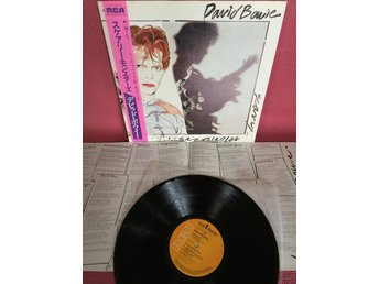 DAVID BOWIE - SCARY MONSTERS JAPAN PRESS MED OBI INSERT EX