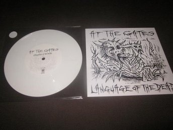 "At The Gates / Voivod 7""Split Vit vinyl! 100x (metallica)"
