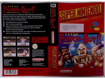 Super Punch-Out!! (Original Rental Cover Paper) -