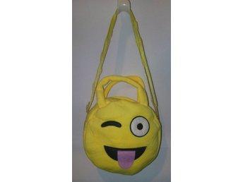 Rea Emoji väska med handtag och axelrem ** hängande tunga ** 1 st **