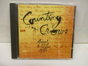 Counting Crows - August And Everything After - FINT SKICK!
