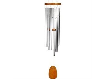 VINDSPEL AMAZING GRACE CHIME, SILVER, Large - WOODSTOCK CHIMES
