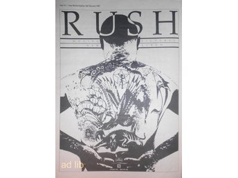 RUSH - MOVING PICTURES, STOR TIDNINGSANNONS 1981