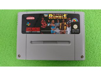 WF Royal Rumble Super Nintendo Snes
