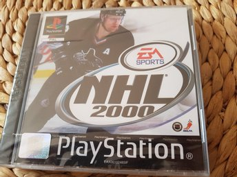 PLAYSTATION NHL 2000 fortf inplastad! EA sports Ishockey hockey