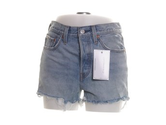 Levi Strauss & Co, Shorts, Strl: 27, 501 HIGH RISE SHORT, Blå