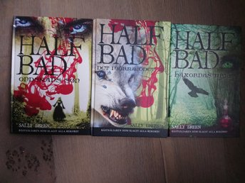 Half Bad serien - 3 böcker - Sally Green - Fantasy - Häxor