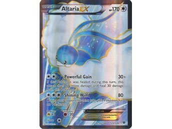 Altaria EX - 123/124 - Full Art Ultra Rare XY: Fates Collide