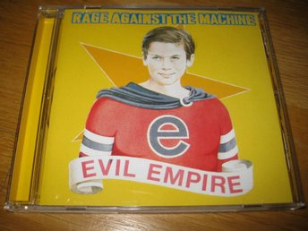 RAGE AGAINST THE MACHINE - Evil empire CD 1996