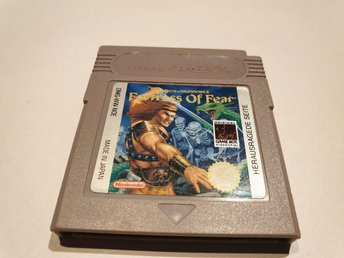 Fortress Of Fear NOE GAME BOY