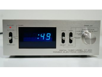 PIONEER DT-400 BLUE LINE DIGITAL AUDIO TIMER
