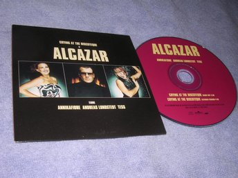 Alcazar - Crying At The Discoteque (CD-singel) 2trk Nyskick!