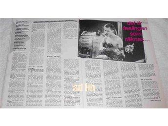 JONAS HELLBORG - DET ÄR FEELINGEN 2-Sidor Bild/Text TIDNINGSARTIKEL 1984 - öckerö - JONAS HELLBORG - DET ÄR FEELINGEN 2-Sidor Bild/Text TIDNINGSARTIKEL 1984 - öckerö
