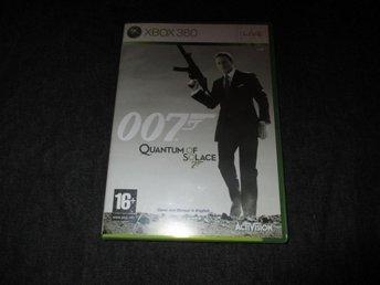 007 Quantum of Solace - Xbox360 - Nyköping - 007 Quantum of Solace - Xbox360 - Nyköping