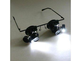 Förstoringsglasögon med LED lampor Förstoringsglas Lupp - Hong Kong - Förstoringsglasögon med LED lampor Förstoringsglas Lupp - Hong Kong