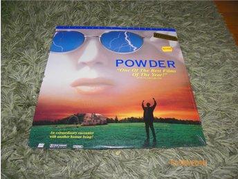 Powder - AC-3 - Letterbox laserdisc 1LD ny inplastad - Forshaga - Powder - AC-3 - Letterbox laserdisc 1LD ny inplastad - Forshaga